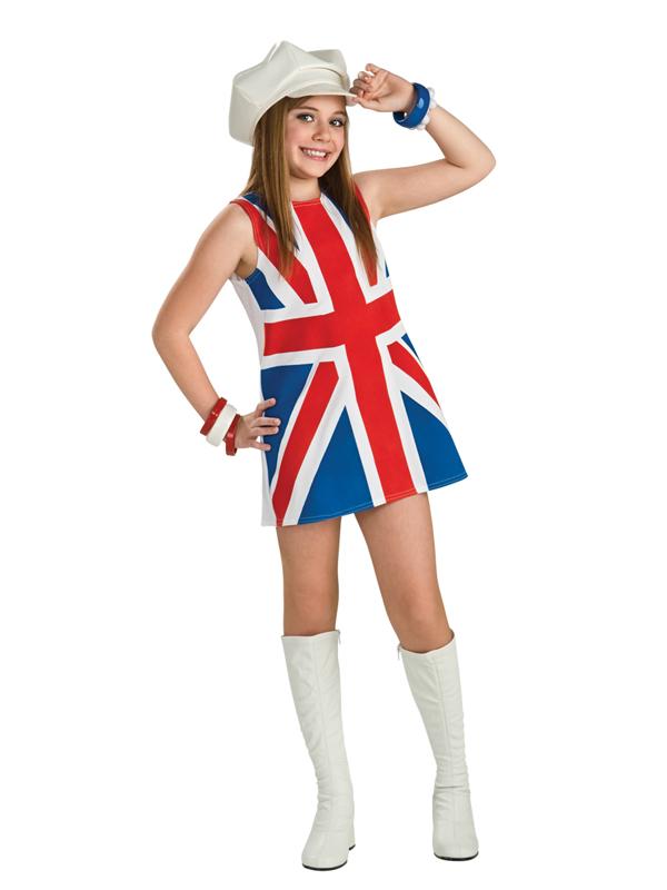 Child Union Jack Fancy Dress