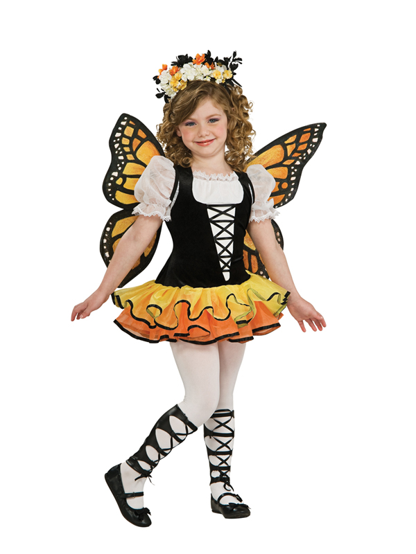 Child-Monarch-Butterfly-Fancy-Dress-Costume-Fairy-Pixie-Book-Week-Kids-Girls