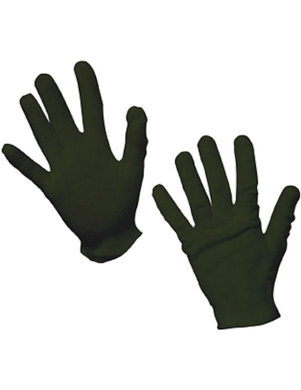 Child's Black Gloves