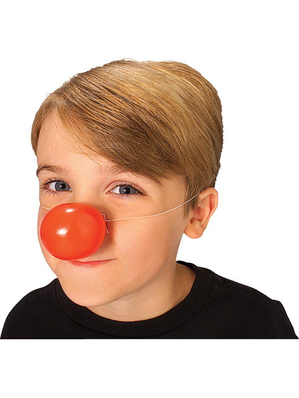 Plastic Clown's Red Nose