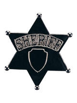 Jumbo Sheriff Badge