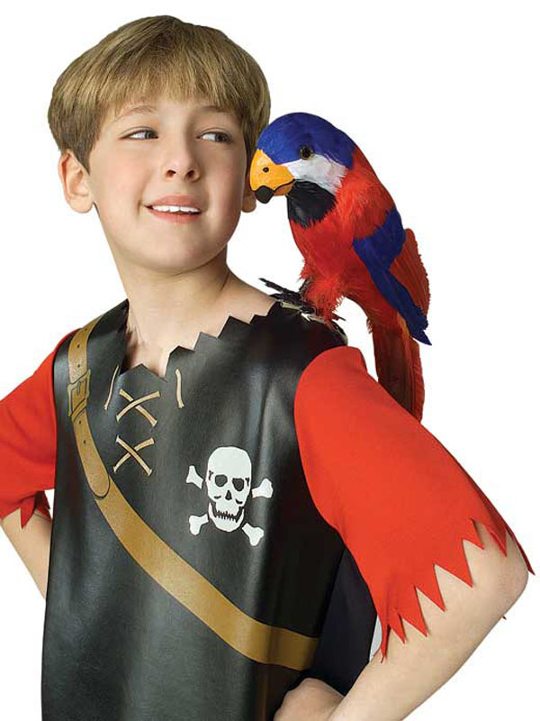Feathered Parrot - Pirate Accessory