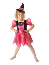 Girl's/Toddler Kitty witch costume