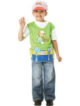 View Item Child One Size Licensed Handy Manny Tabard Fancy Dress Costume Kids Boys Male