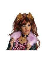 Girl's Monster High Clawdeen Wolf Girl's Wig