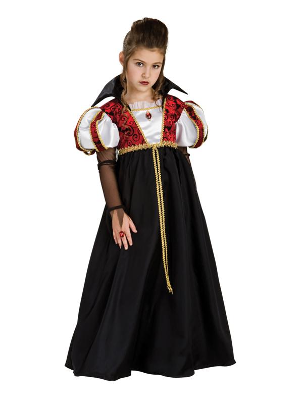 image is loading girls age 5 7 royal vampire fancy dress - Halloween Costumes Vampire For Girls