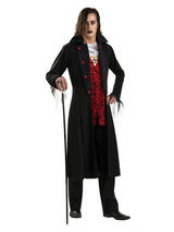 View Item Adult Royal Vampire Fancy Dress Halloween Costume (Standard)