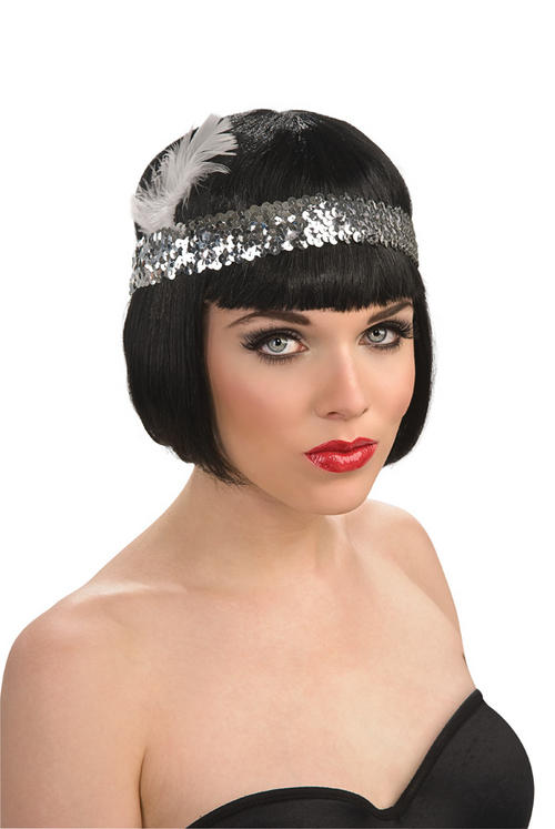 1920 Headpieces http://www.plymouthfancydress.com/products/ladies-costumes-gangster/(rub)r49117-sequin-flapper-headpiece-1920s-fancy-dress-gangster-charleston-accessory.html