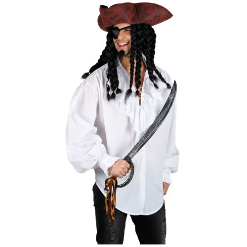 Adult-Pirate-Fancy-Dress-Costumes-Mens-Caribbean-Cutlass-Pistol-Beard-Moustache