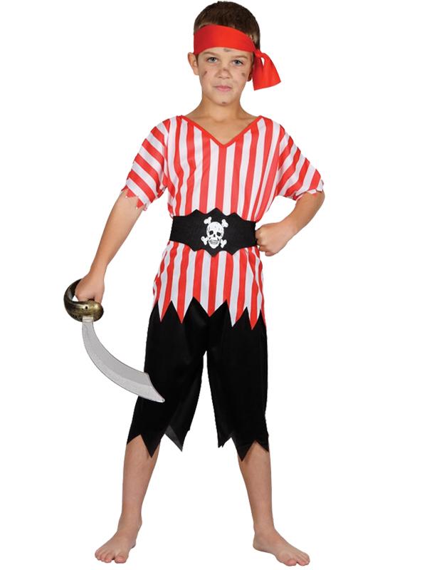 Boy's Caribbean Pirate Costume