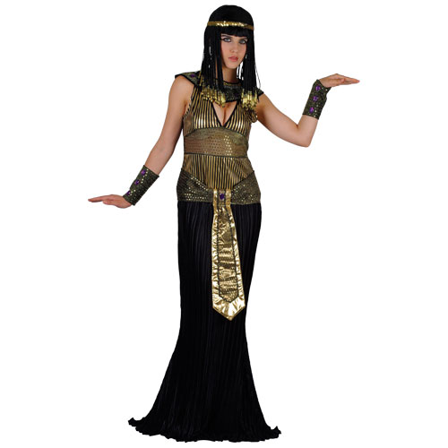 Adult-Ladies-Cleopatra-Fancy-Dress-Costume-Egyptian-Queen-Sexy-Princess-Womens