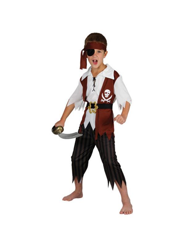 Boy's Cutthroat Pirate Costume