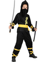 Boy's Dragon Ninja Costume