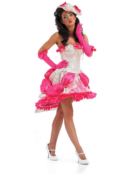 Big fat gypsy wedding bridesmaid fancy dress costume sexy for Sexy wedding dress costume