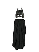 View Item Child Batman Cape + Mask Set Licensed The Dark Knight Rises Fancy Dress Costume