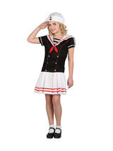 Girl's Little Sailor Costume