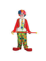Boy's Funny Circus Clown Costume