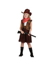 Girl's Western Cowgirl Costume