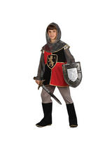 View Item Child Deluxe Knight of the Realm Fancy Dress Costume Kids Boys Male