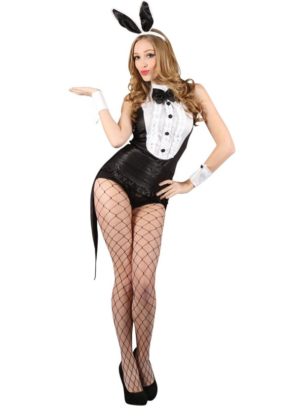Ladies Hot Play Bunny Hostess Costume