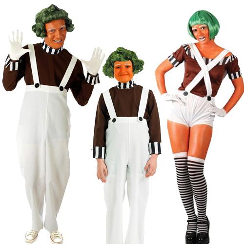 adult costume Willy wonka