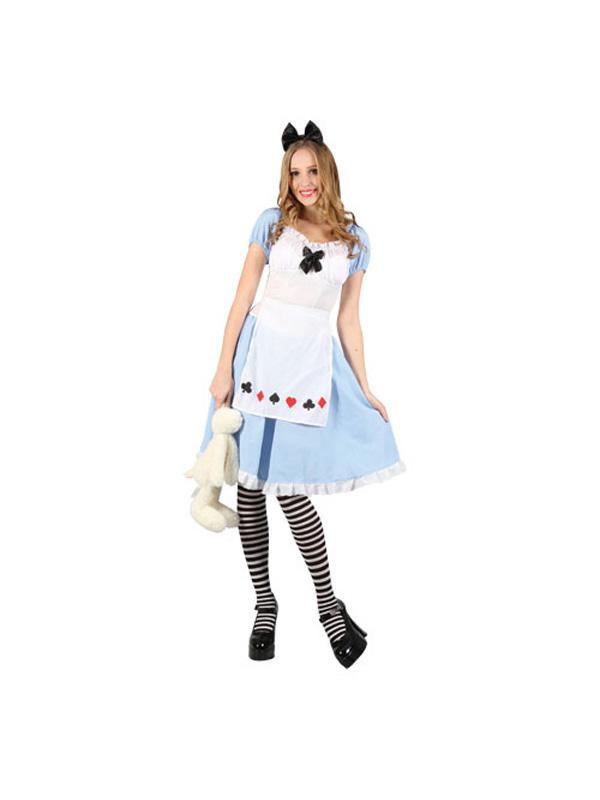 Ladies Alice in Wonderland Costume