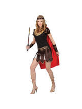 View Item Adult Sexy Roman Centurion Warrior Gladiator Fancy Dress Costume Ladies Womens