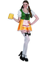 Ladies Sexy Bavarian Beer Girl Costume