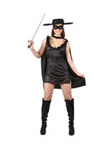 Ladies Sexy Masked Mexican Bandit Costume
