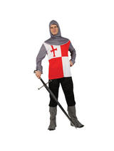 Men's St. Georges Medieval Knight Costume