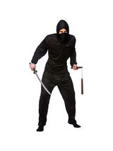Men's Black Ninja of the Night Costume