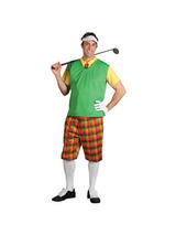 Men's Goofy Golfer Costume