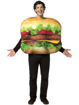 Adult's Hamburger Costume