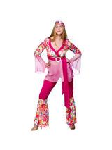 Ladies Go Go Hippie Chick Costume
