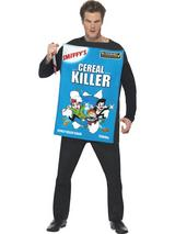 View Item Adult Cereal/Serial Killer Fancy Dress Costume Halloween Mens Ladies Gents Women