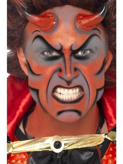 Adult Devil Make-up Fancy Dress Costume Halloween Mens