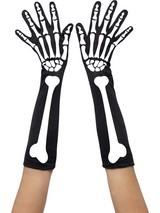 Adult Ladies Skeleton Gloves