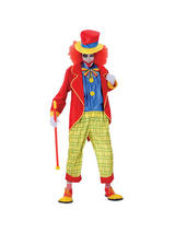 Men's Crazy Circus Clown Costume