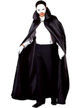 View Item Adult Phantom Of The Night Opera Fancy Dress Costume Halloween Mens