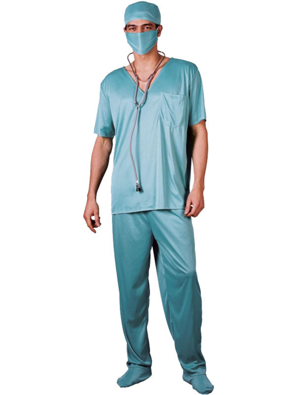 Adult Large Surgeon E R Scrubs Hospital Doctor Vet Fancy