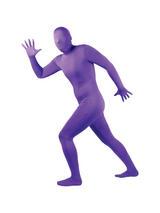 Men's Purple One Piece Skinz Costume