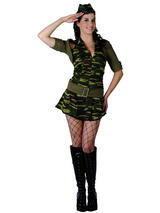 Ladies Sexy Army Private Costume