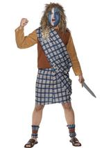 View Item Adult Brave Scotsman Braveheart Highlander Fancy Dress Costume Mens Gents