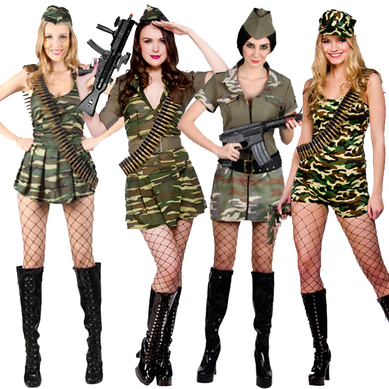 Wonderful WW2 Army Girl  Plus Size  Plus  XL Size  Adult39s Fancy Dress
