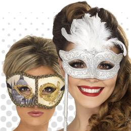 Venetian and Eye Masks