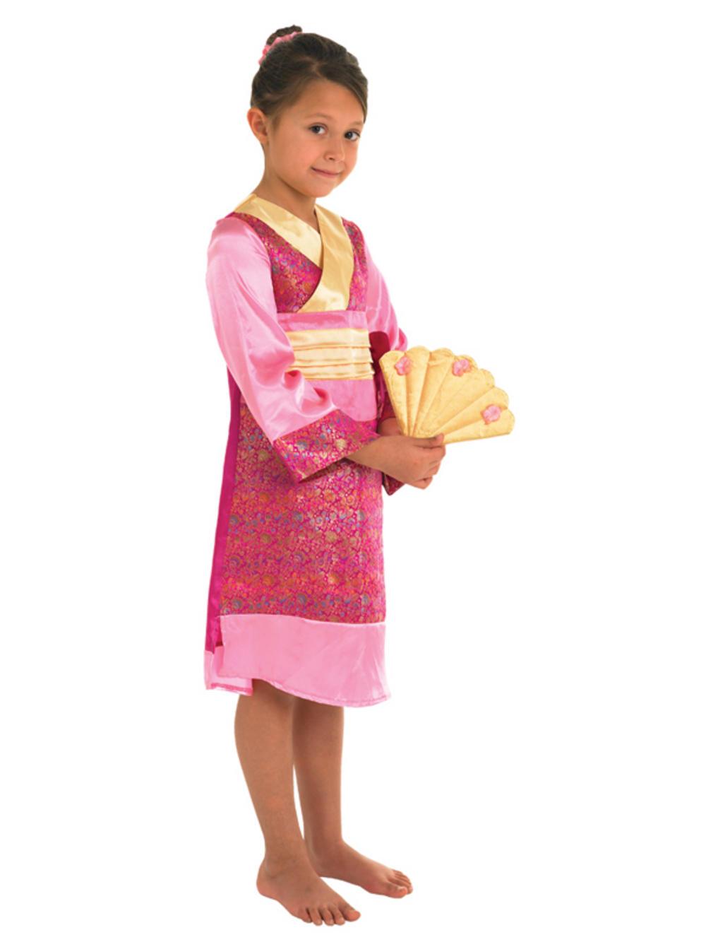 Child Oriental Princess Geisha Fancy Dress Costume Kids  sc 1 st  Meningrey & Girls Geisha Costume - Meningrey