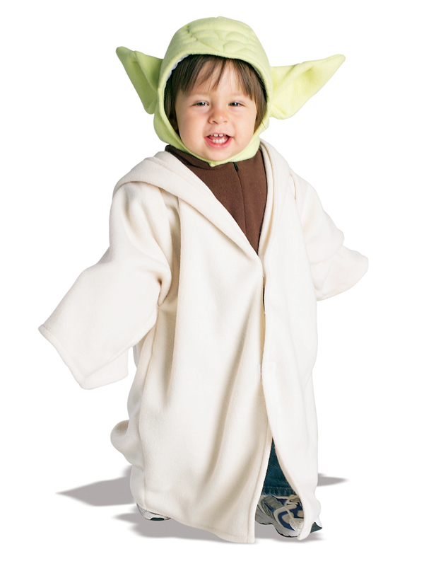 kind lizenzierte star wars yoda fancy dress kost m kinder jungen kleinkinder ebay. Black Bedroom Furniture Sets. Home Design Ideas