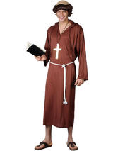 Men's Medieval Monk Costume