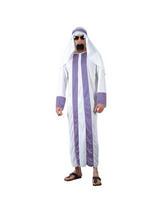 View Item Mens Arab Sheik Middle Eastern Desert Dweller Fancy Dress Costume
