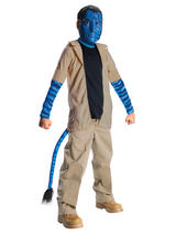 Avatar Jake Sully Boy's Costume